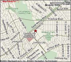 Century City Mall Map